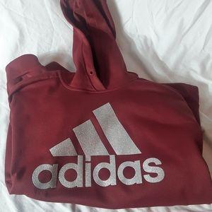 Adidas hoody hoodie size M